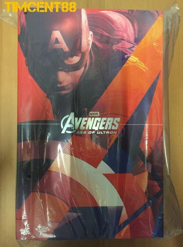 listo Hot Toys MMS281 Los Vengadores 2 la Era de Ultron Capitán América aou Chris Evans