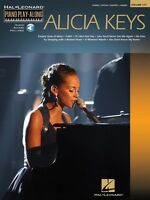 Alicia Keys Sheet Music Piano Play-along Book And Audio 000312306