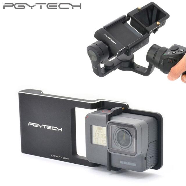 PGY Tech GoPro 3+ 4 5 6 XiaoYi Adapter ZhiYun Smooth Q 2 4Gimbal Stabiliser AUS