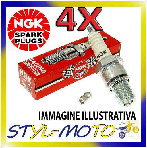KIT 4 CANDELE NGK SPARK PLUG RACING IMR9A-9H CBR 600 F engine 2242873PC35 2004