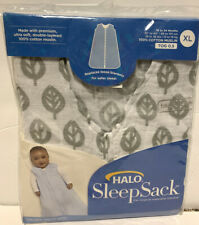 HALO SleepSack 100/% Cotton Wearable Blanket X-Large Gray Elephant Graphics