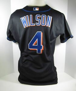 f8473eb3587 2000 New York Mets Wilson  4 Game Issued Possible Game Used Jersey ...