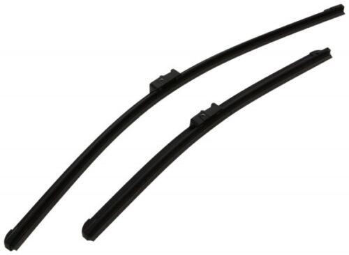"VW Lupo 1998-2005 Aero Flat Windscreen Wiper Blades 21/"" 19/"" Set"