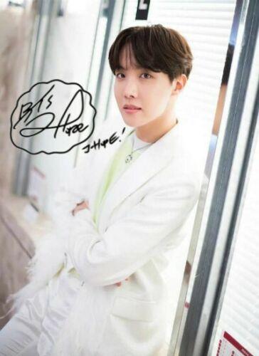 "BTS Music K-POP JHope Signed Autograph PRINT 6x4/"" Gift"