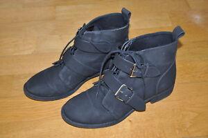 Schuhe Top Schwarz H amp;m Schicke Damen By Details Zu 38 Divided Stiefelette Größe In gYbf76y
