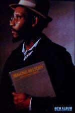 LINTON KWESI JOHNSON *ORIGINAL ISLAND RECORDS POSTER*  POP REGGAE SKA RARE