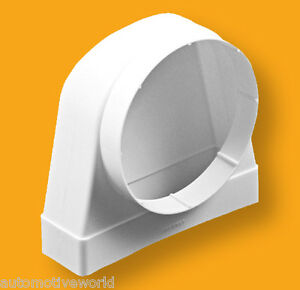 Round To Rectangular Adaptor 60 х 204 160mm Ducting