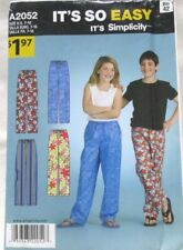 5d0c896700 item 4 Simplicity Pattern A2052 Size 7-16 Girls Boys Pants Uncut 2012 - Simplicity Pattern A2052 Size 7-16 Girls Boys Pants Uncut 2012