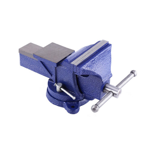 """5/"""" 125MM WORK BENCH VICE VISE WORKSHOP CLAMP ENGINEER JAW SWIVEL BASE TABLE"""