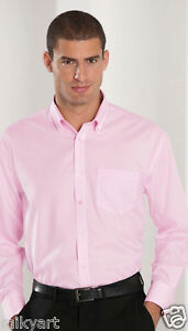RUSSEL-pregiata-camicia-uomo-micro-twill-lava-indossa-colletto-bottoni-no-stiro