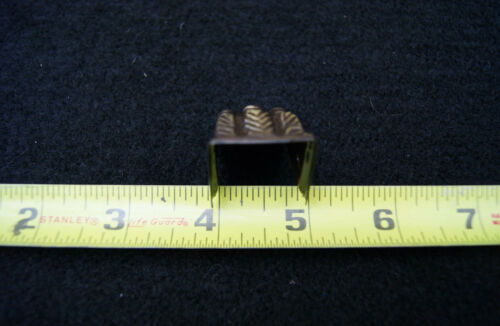 Claw Feet Stamped Brass Small Table Leg  Antique Brass