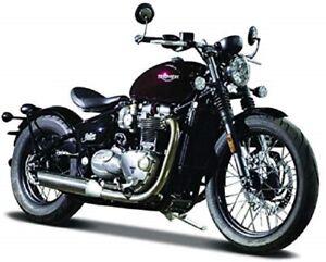 Bburago-1-18-Triumph-Bonneville-Bobber-MOTORCYCLE-BIKE-DIECAST-MODEL-NEW-IN-BOX