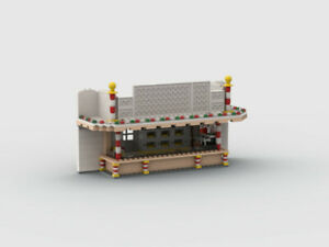 Lego® Kirmes Mandarin Bude
