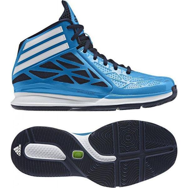 Adidas Basketball Crazy rápido Zapatos Tenis Entrenadores Azul Nuevo Para Hombre