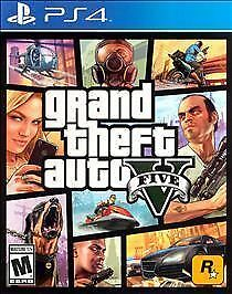BRAND NEW!  Grand Theft Auto V (Sony PlayStation 4, 2014) PS4 Video Game