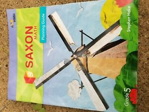 saxon math: planning guide grade 5 | eBay