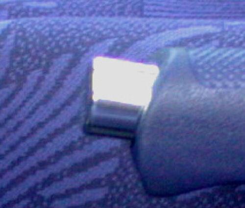 IS Aluminium handbremsknopf Chrome MCC Smart Fortwo 1