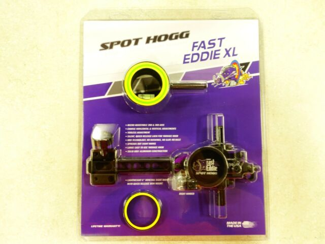 .010 Right Hand NIP Spot Hogg Fast Eddie Double Pin Sight Free Shipping