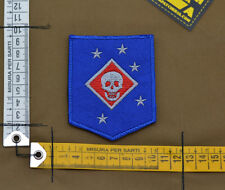 "Ricamata / Embroidered Patch Marsoc ""Marine Raider"" Blue with VELCRO® brand hook"