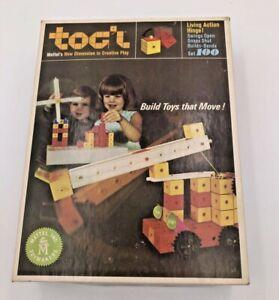 MATTEL TOG'L TOGL CREATIVE PLAY BUILDING SET PLAYSET BOXED 1967