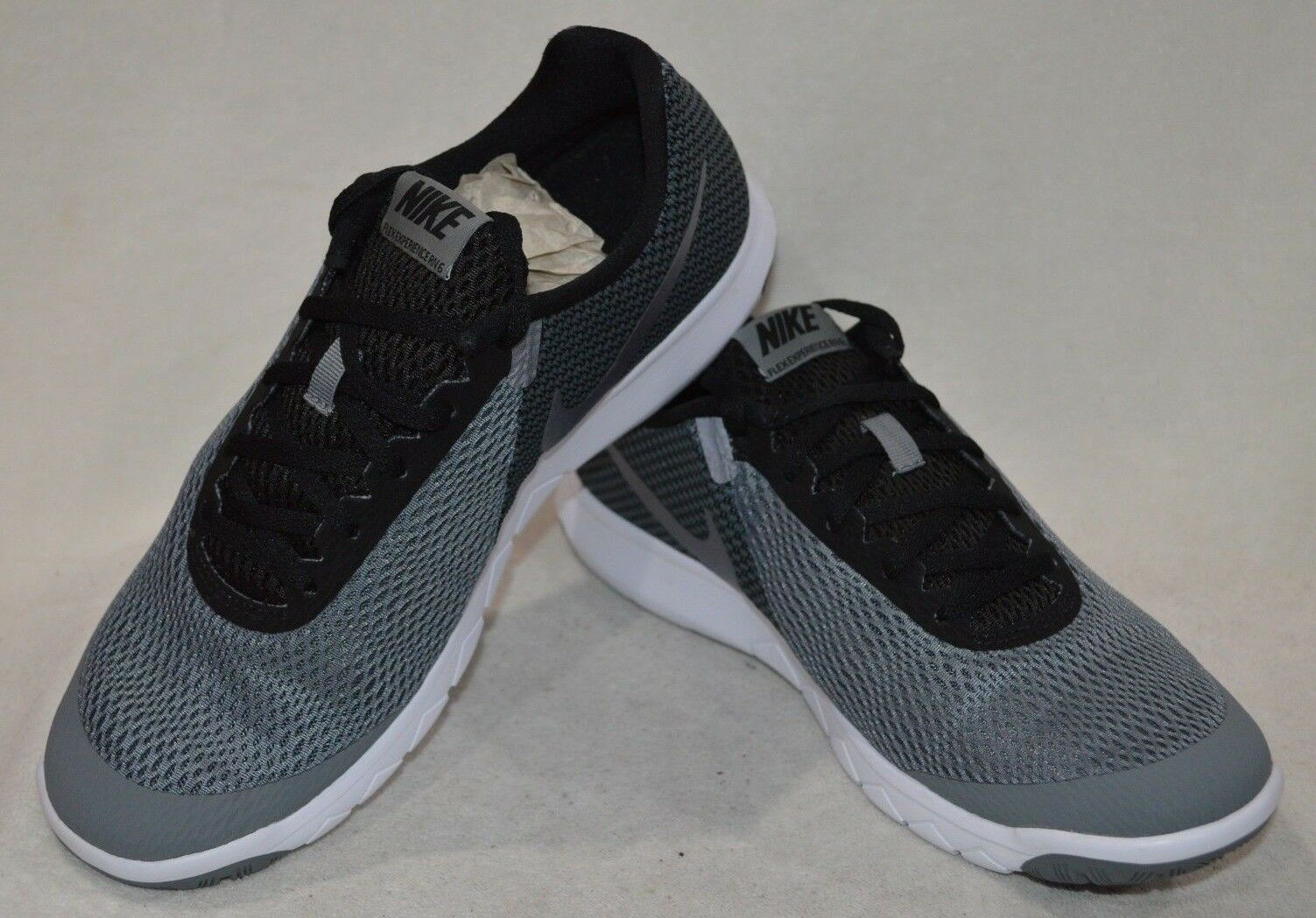 Nike Men's Flex Experience RN 6 Cool Grey Black Running shoes-Assorted Sizes NWB