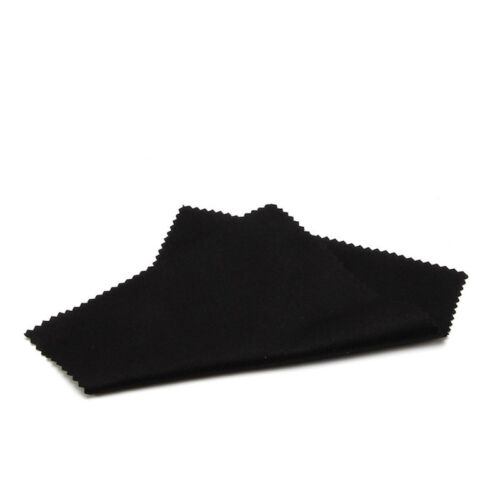 20x Black Microfiber Cleaning Cloth for Lens DSLR Glasses TV Computer Screen Hot