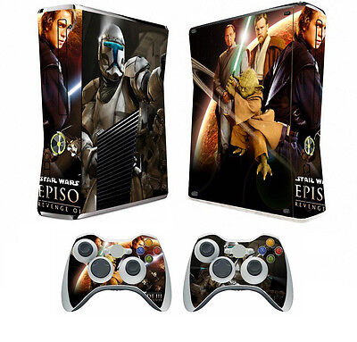 Star Wars 022 Vinyl Decal Skin Sticker For Xbox360 Slim And 2 Controller Skins Sale Price Video Games & Consoles