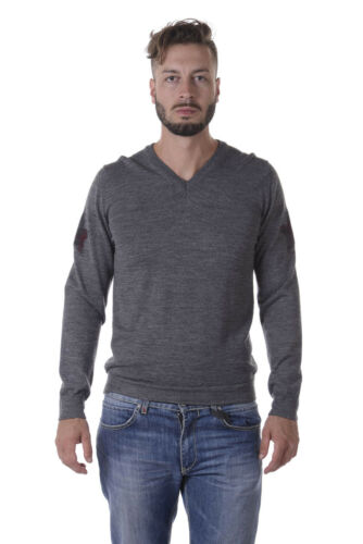 Italy Grigio Sweater Fm73134u3605 Daniele Alessandrini Maglia Lana 49 Uomo xSqIx4n