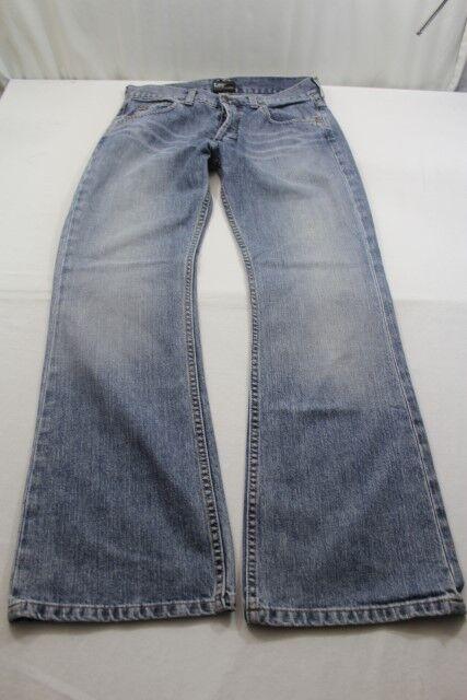 H5135 Lee Denver Denver Denver Jeans W32 Blau Unifarben Neuwertig | Haltbarer Service  a8935e
