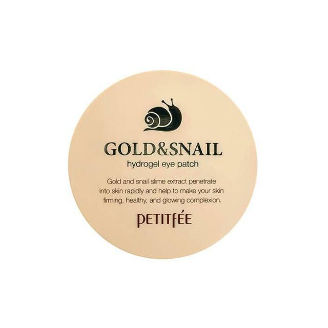 PETITFEE Gold & Snail Hydrogel Eye Patch 60EA [US SELLER]