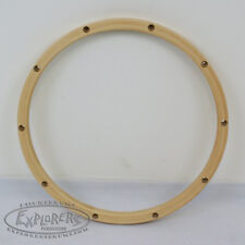 "Wood Drum Hoop 14"" 10 Lug 24 ply Wood Rim THM1410H"