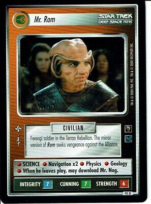 1e Star Trek CCG  The Trouble With Tribbles Rare Cards Part 2//2