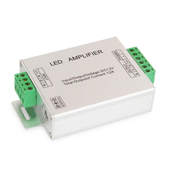 RGB LED Verstärker, Strip Repeater, Strips verbinden, LEDs Leisten verlängern