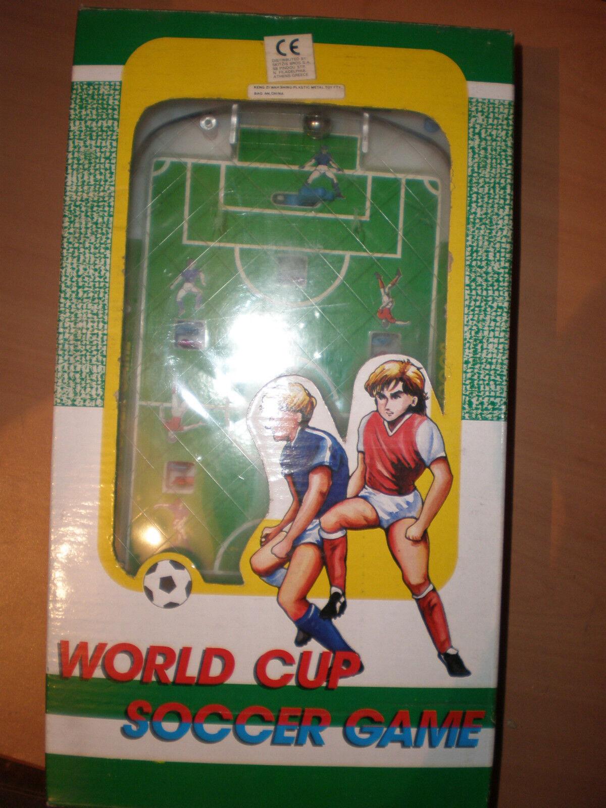 80'S VINTAGE BALANCE SKILL WORLDCUP SOCCER gioco PINBtutti  LIKE MINT MIB  qualità ufficiale