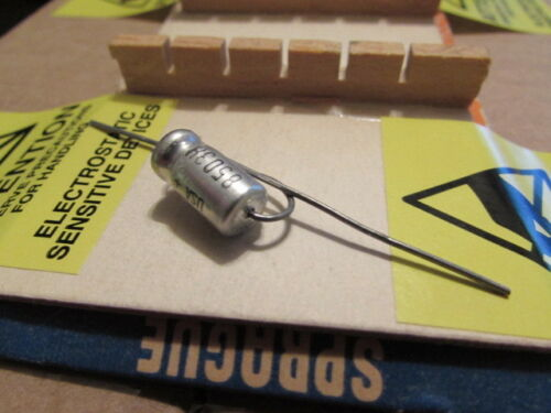 25DC Sprague 30D TE1203 USA Axial Capacitor New Old Stock 6uF Qty: 1 Piece