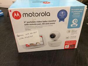 "Motorola MBP36XL 5"" portable video baby monitor READ"