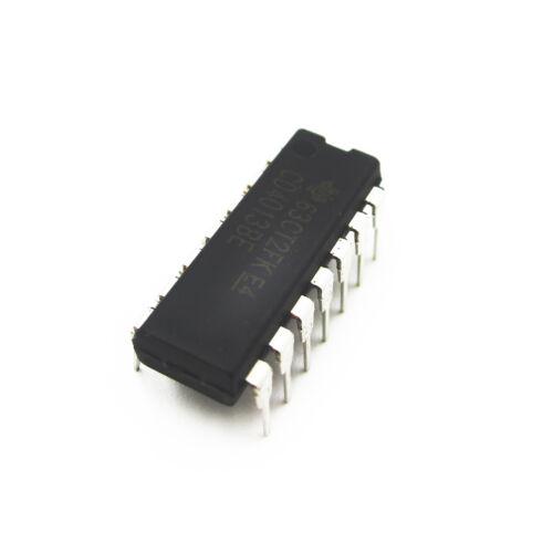25PCS CD4013BE Integrated Circuit Dual D-Type Flip Flop DIP14 Good Quality