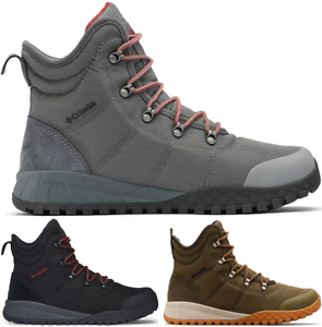 COLUMBIA Fairbanks Waterproof Insulated Casual Sneakers Shoes Boots Mens New