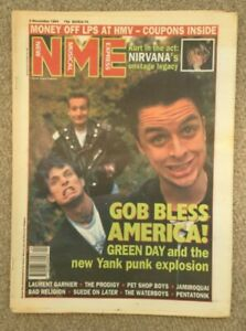 NME Magazine - 5 November 1994 - Green Day, Nirvana, The Prodigy, Pet Shop Boy