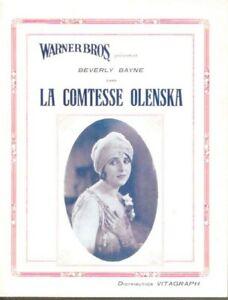 DP-LA-COMTESSE-OLENSKA-BEVERLY-BAYNE-VITAGRAPH-FILM-MUET