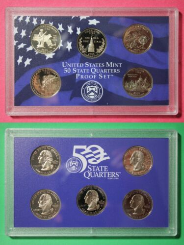 2000 S Proof State Quarters Set NO Box or COA Clad Deep Cameo Combined Shipping