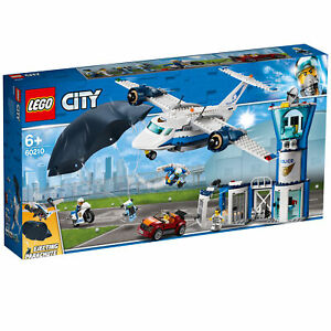 60210-LEGO-City-Sky-Police-Base-aerienne-529-PIECES-6-Ans
