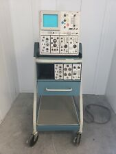 Tektronix 7844 Dual Beam Oscilloscope Scope Mobile Type 204 With Probes Amp Cables