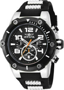 Invicta-17202-52mm-Speedway-Chronograph-Date-Polyurethane-Strap-Men-039-s-Watch