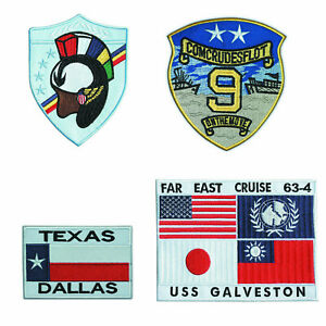 TOP-GUN-EMBROIDERED-G1-FLIGHT-JACKET-PATCH-SET-001-4-Large-Patches