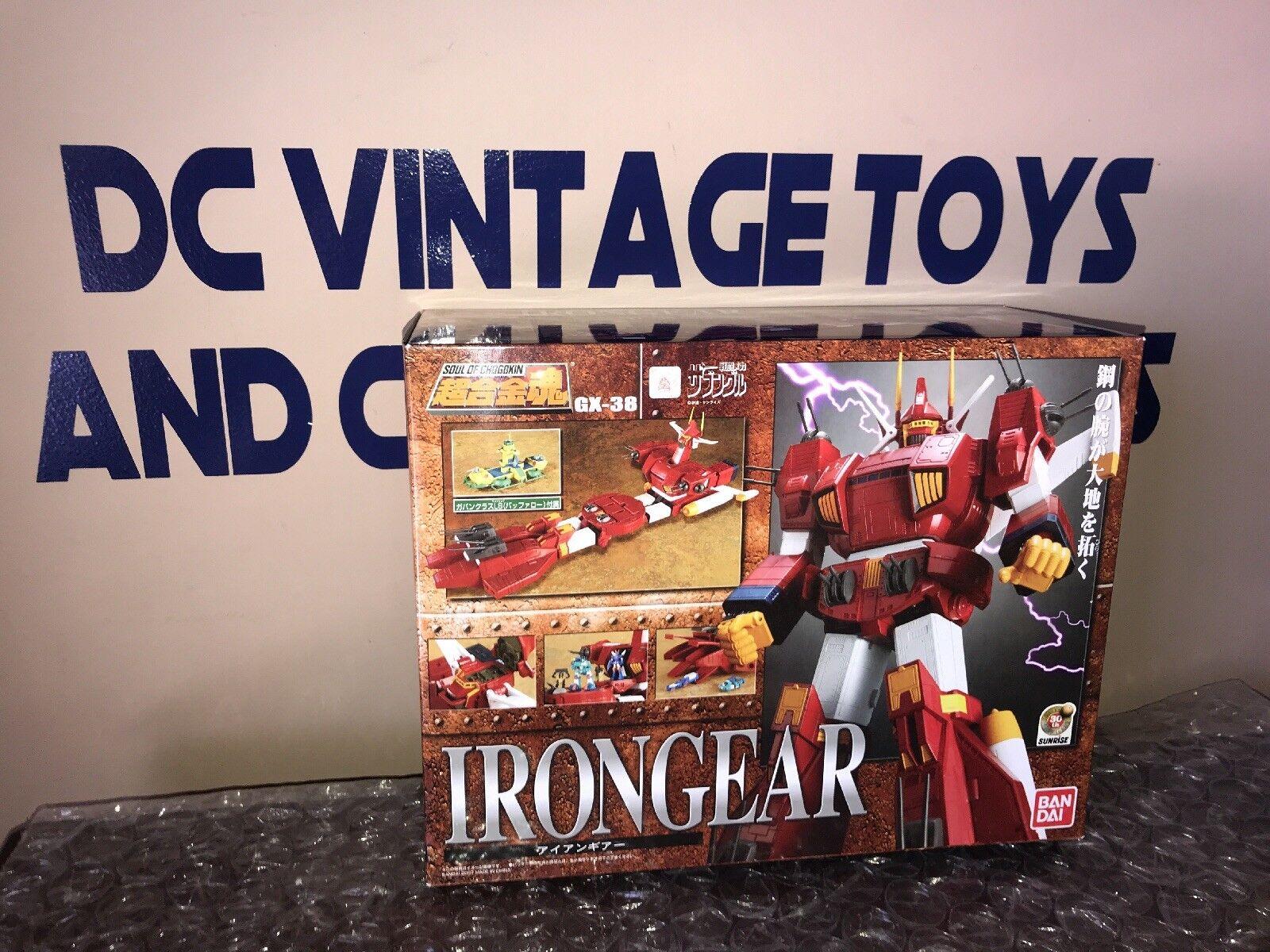 Bandai Soul of Chogokin GX-38 Iron Gear U.S.A Seller. Brand New