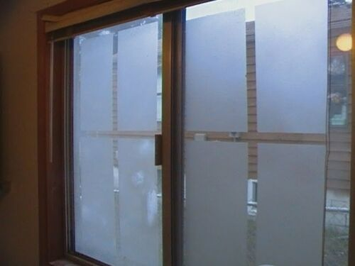 Skymex High Quality Sticker Frosted Glass Window Film Privacy Doors