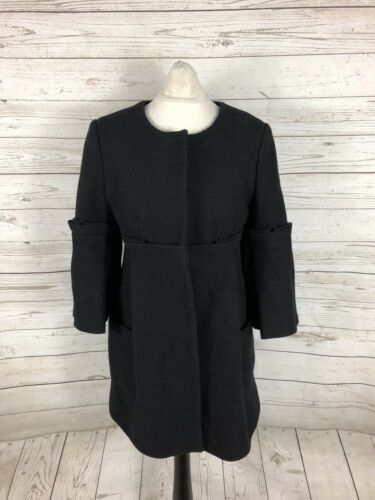 Size Williamson Great Matthew Uk6 Wool Condition Black Donna Coat qtZwC1B