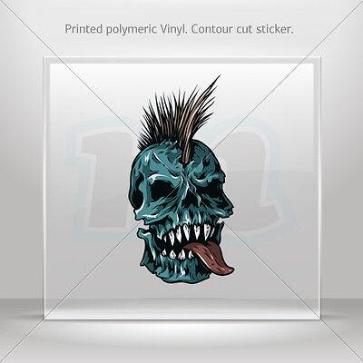 Decals Decal Samurai Skull Atv Bike polymeric vinyl Garage st5 W8422