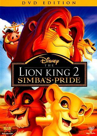 The Lion King Ii Simbas Pride Dvd 2012 Special Edition For Sale Online Ebay